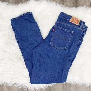 Levis 314 Shaping Straight High Waist Jeans